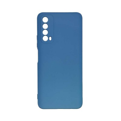 OEM Soft Touch Silicon για Huawei P Smart 2021 Dark Blue (200-108-148)