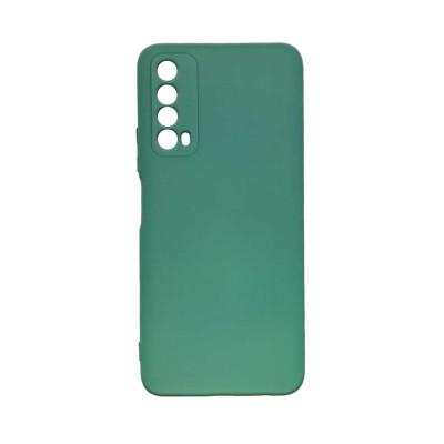 OEM Soft Touch Silicon για Huawei P Smart 2021 Dark Green (200-108-149)