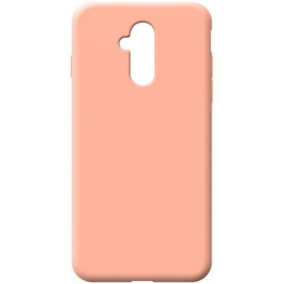 OEM Soft Touch Silicon για Huawei Mate 20 Lite Pink ( 200-108-151)