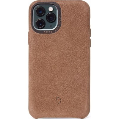 Decoded Leather Back Cover για το iPhone 11 Pro Max Brown (200-108-154)