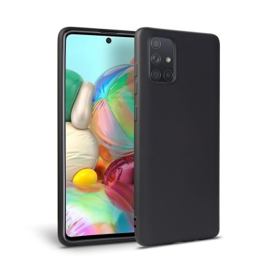My Colors Θήκη Σιλικόνης  Samsung Galaxy A71 -Black (200-108-216)