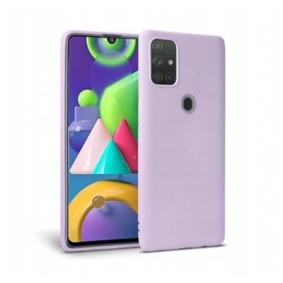 My Colors Θήκη Σιλικόνης  Samsung Galaxy A21s - Λιλά (200-108-217)