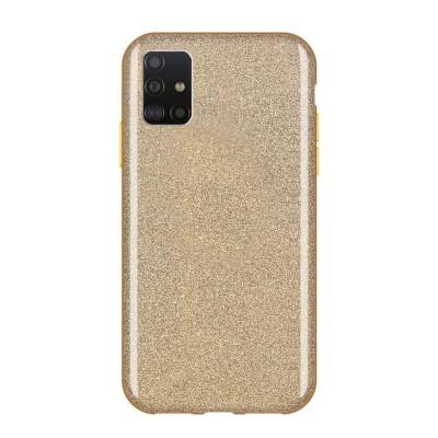 Shining Glitter Case για Samsung Galaxy A51 Gold - OEM (200-108-235)
