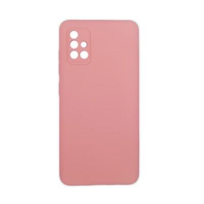 OEM Soft Touch Silicon για Samsung Galaxy A51 Pink ( 200-108-236)