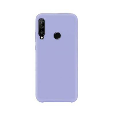 My colors Silicone Case για Huawei P40 Lite E Λιλά (200-108-252)