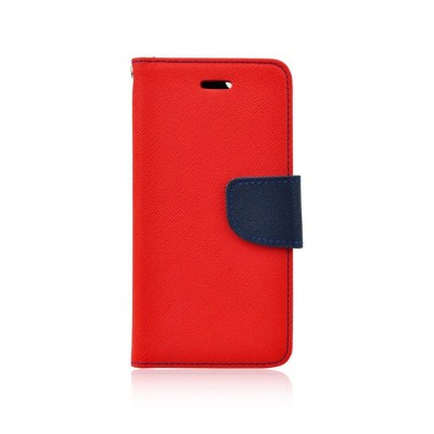 Fancy Θήκη - Πορτοφόλι για Xiaomi Redmi Note 10 5G Κόκκινο/ Σκούρο Μπλε (200-108-474)