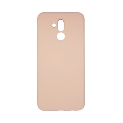 My colors Silicone Case για Huawei Mate 20 Lite  Light Pink (200-108-304)