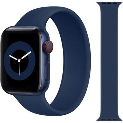Stoband Hera Solo Loop Midnight Blue Λουράκι Apple Watch 42mm & 44mm (Size: M) (200-108-317)