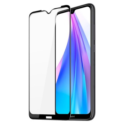 Dux Ducis Full Face Black Αντιχαρακτικό Γυαλί 9H 10D Tempered Glass Xiaomi Redmi Note 8T  (200-108-342)