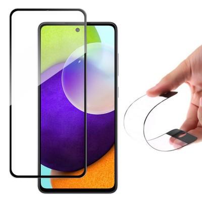 Wozinsky Full Cover Flexi Nano Tempered Glass Black Edge για Samsung Galaxy A52 (200-108-344)