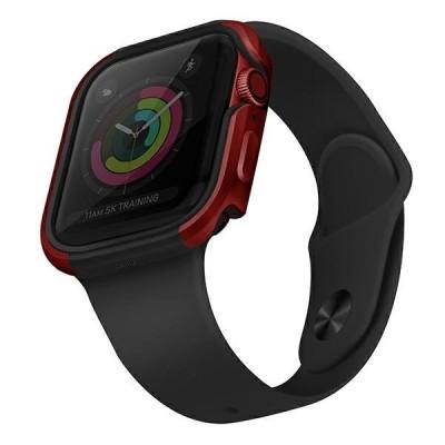 UNIQ Valencia Protective Case Θήκη Red για Apple Watch 44mm (Series 4/5/6/SE) (200-108-378)