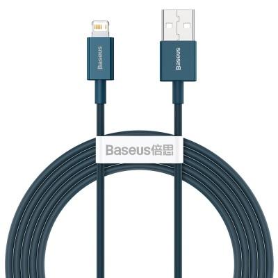 Baseus Superior Cable USB - Lightning 2,4A 2 m Blue (CALYS-C03) (200-108-380)