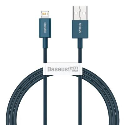 Baseus Superior Cable USB - Lightning 2,4A 1m Blue (CALYS-A03) (200-108-381)