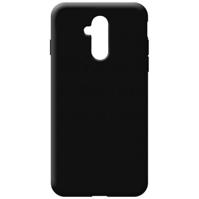 OEM Soft Touch Silicon για Huawei Mate 20 Lite Black (200-108-452)