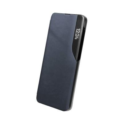 OEM  Flip Cover Case Θήκη με Ημιδιάφανο Παράθυρο για Samsung Galaxy A22 5G - Blue (200-108-476)