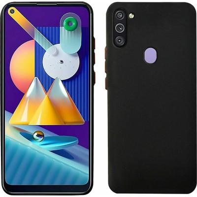 My Colors Θήκη Σιλικόνης Samsung Galaxy A11 / M11 - Βlack (200-108-482)