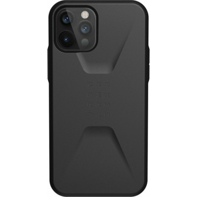 Θήκη UAG Civilian για Apple iPhone 12 / 12 Pro - Black - (200-108-532)