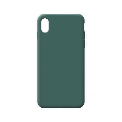 OEM Soft Touch Silicon For iPhone XR Dark Green (200-108-538)