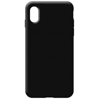 OEM Soft Touch Silicon For iPhone XR Black (200-108-539)