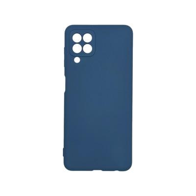 My colors Silicone Case για Samsung Galaxy A22 4G Dark Blue (200-108-552)