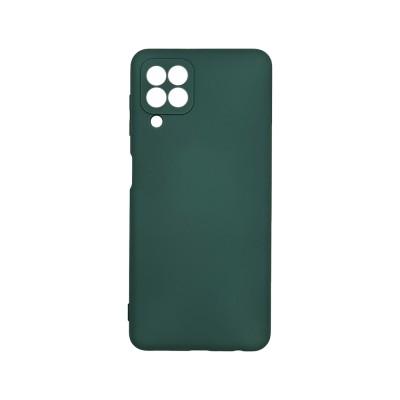 My Colors Θήκη Σιλικόνης Samsung Galaxy A22 4G  - Dark Green (200-108-589)