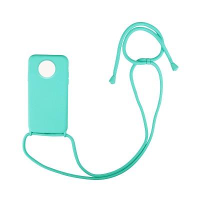 CarryHang Liquid Silicone Κορδόνι Xiaomi Redmi Note 9T OEM - Light Blue (200-108-629)