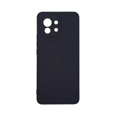 Θήκη σιλικόνης My Colors για Xiaomi Mi 11 Black (200-108-630)
