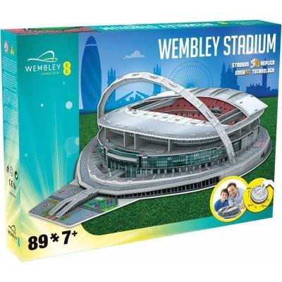 3D Puzzle Wembley Stadium - 89 τεμάχια (100-100-974)