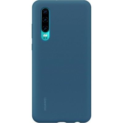 Huawei P30 Official Back Cover Σιλικόνης Μπλε