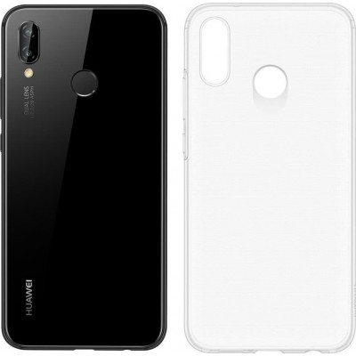 Official Huawei Silicon Case P20 Lite Διάφανη