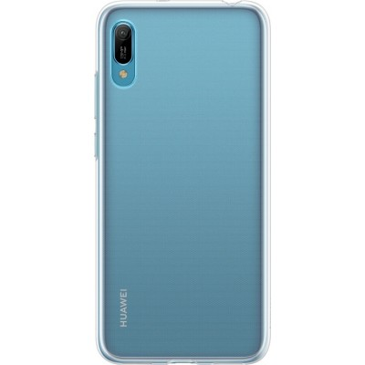 Official Huawei Silicon Case Y6 (2019) Διάφανη