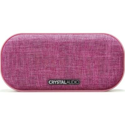 Bluetooth Ηχείο Crystal Audio Tub BS-03-P Pink