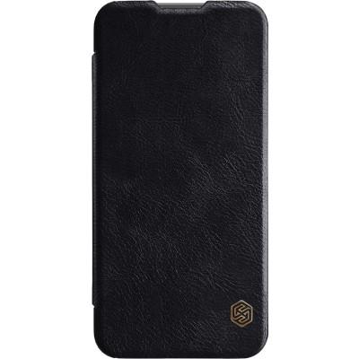 Δερμάτινη θήκη-πορτοφόλι QIN Leather by Nillkin μαύρη για Huawei P Smart 2019