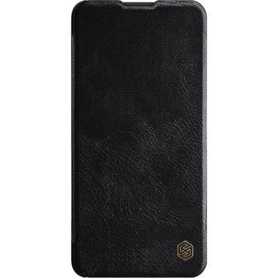 Δερμάτινη θήκη-πορτοφόλι QIN Leather by Nillkin μαύρη για Huawei P40 Lite
