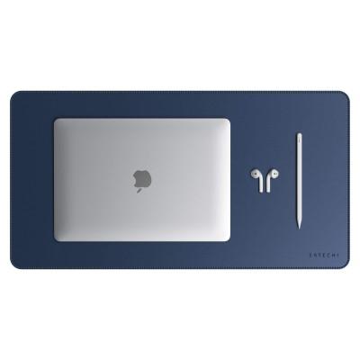 Satechi Eco-Leather Deskmate - Επιφάνεια Γραφής & Mouse pad - Mat Blue (ST-LDMB)
