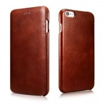 iCarer Vintage Curved Edge Δερμάτινη Θήκη iPhone 6/6S - Brown (RIP 622)