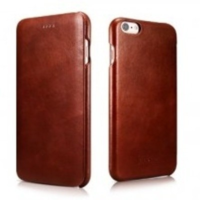 iCarer Vintage Curved Edge Δερμάτινη Θήκη iPhone 6/6S Plus - Brown (RIP 6015)