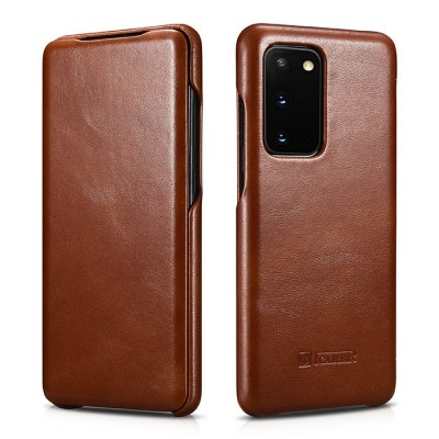 iCarer Vintage Series For Samsung Galaxy S20 - Brown (RS 992012)