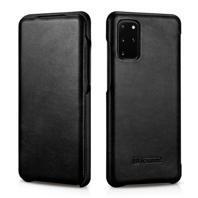 iCarer Vintage Series For Samsung Galaxy S20 Plus - Black (RS 992007)