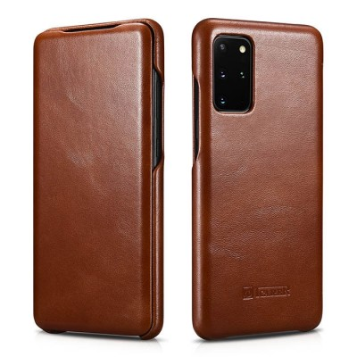 iCarer Vintage Series For Samsung Galaxy S20 Plus - Brown (RS 992007)