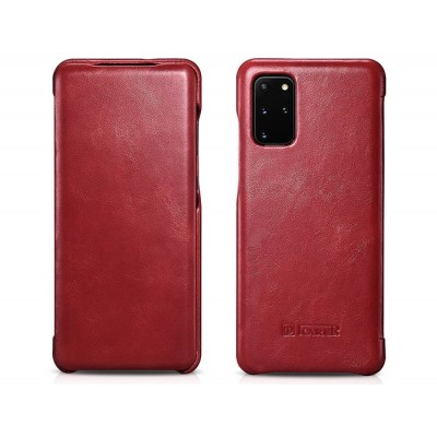 iCarer Vintage Series For Samsung Galaxy S20 Plus - Red (RS 992007)