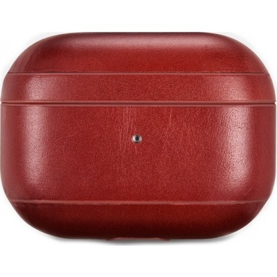 iCarer IAP045 AirPods Pro Genuine Leather Case Red (22-00170)