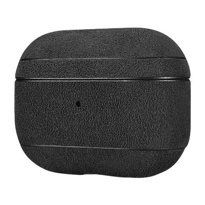 iCarer IAP060 AirPods Pro Alcantara  Leather Case Black (22-00171)
