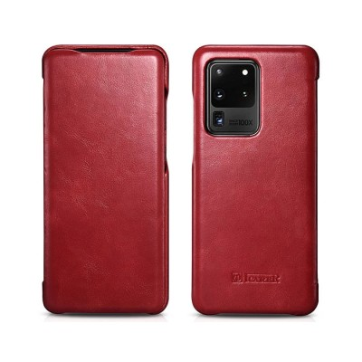 iCarer Vintage Series For Samsung Galaxy S20 Ultra - Red (RS 992008)