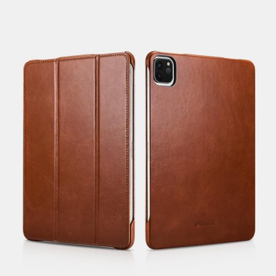 "iCarer RID 717 IPAD Pro 11"" 2020 Genuine Leather Case Brown (22-00176)"