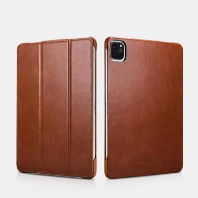 "iCarer RID 717 IPAD Pro 11"" 2020 Genuine Leather Case Brown (22-00176)"