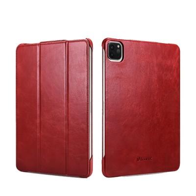 "iCarer RID 717 IPAD Pro 11"" 2020 Genuine Leather Case Red (22-00177)"
