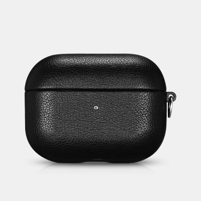 iCarer IAP 53 AirPods Pro PU Microfiber Leather Case Black (22-00181)