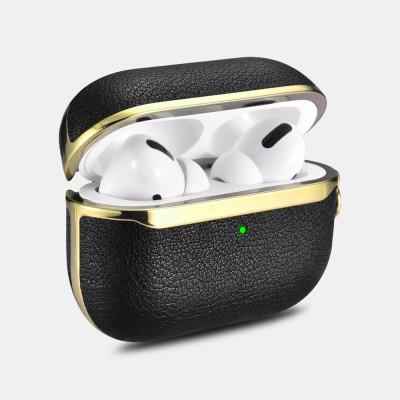 iCarer IAP 54 AirPods Pro Gold Electroplating Case Black+Gold (22-00182)