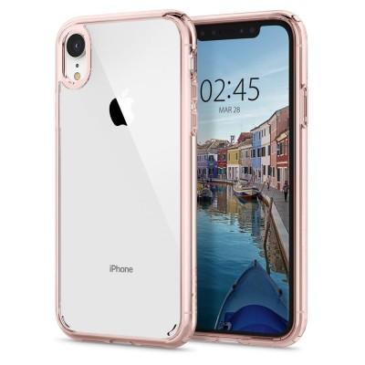 Spigen Ultra Hybrid Θήκη iPhone XR - Crystal Rose (064CS24875)